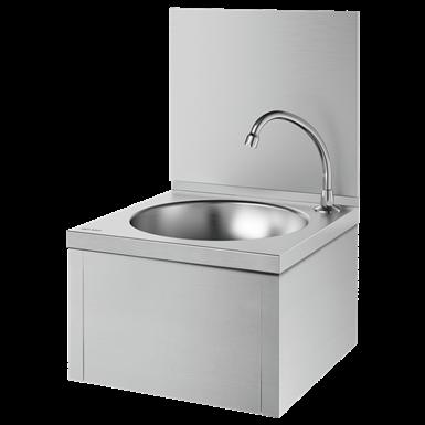 182320  Wall-mounted SXS mechanical hand washbasin