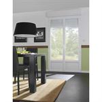 double pvc french door carlis.j - new construction