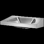 121270  wall mounted trapez washbasin