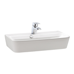 Emma Square Compact washbasin 550x350 mm.
