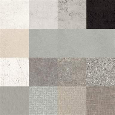 resopal collection stones and materials 2 - high pressure laminate (hpl) and compact laminate