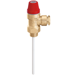Válvula de seguridad combinada de temperatura y presión