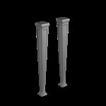 ELEGANZA - 用于安装46814号和46816号产品的Cristalplant®腿,外部釉面  - 46819