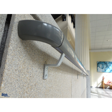 linea'touch gainée pvc - main courante trilobée largeur 40 mm