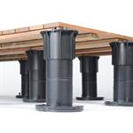 Bison Versadjust Deck Support Pedestals