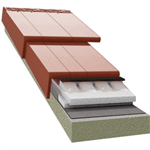 TECTUM PRO system insulation T320 100mm for Logica Plana rooftile