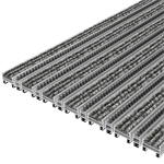 topcleantrend® with ribbed carpet and brush strip