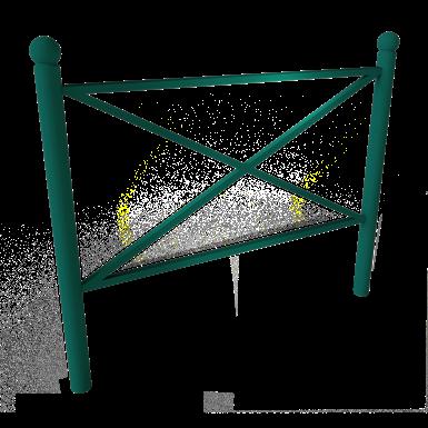 synergie barrier - round posts