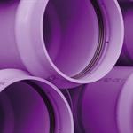 PN12.5 PVC-O TOM pipe -  Reused water