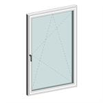 STRUGAL S74RP Window (One-Leaf)