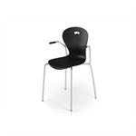 Chair Karoline 4 with armrest large sh 45 cm