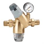 Valvul për reduktim presioni me tapë të zëvendësueshme, me matës presioni ose me lidhje të matësit të presionit