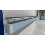 Guardian Twin Handrail Stainless Steel: 125PR