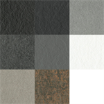 resopal crushed stone - high pressure laminate (hpl) with natural stone texture