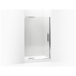 """pinstripe® pivot shower door, 72-1/4"""" h x 45-1/4 - 47-3/4"""" w, with 1/2"""" thick crystal clear glass"""
