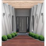 double pvc entrance door