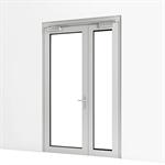 exterior double door