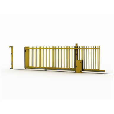 sliding gate on rail allix