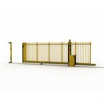 sliding gate on rail allix