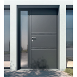 entrance door - collection surface