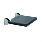 Inox Care Lift-up shower seat, 410x410, padded seat black