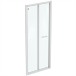 CONNECT 2 B/FOLD 85 UNHAND DOOR IC WHT CLEAR
