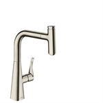 Metris Select Single lever kitchen mixer 240 with pull-out spout 14857800