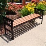 Banning Pattern Backless Benches