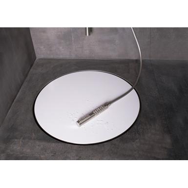 Circular shape and extraordinary size design shower drain - Dot