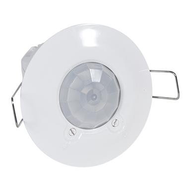 360° motion sensor - IP 41 - 8 m - flush ceiling-mounting - PIR technology