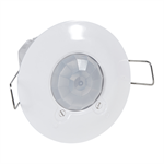 360° motion sensor - IP 41 - 8 m - flush ceiling-mounting - PIR technology