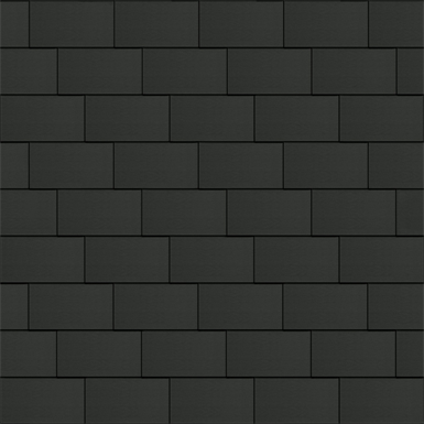 bardeaux facade (333 mm x 600 mm, horizontal, artcolor basalte)