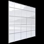 univers® 54 curtain wall façade opening hidden