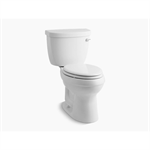 k-3609-ur-0 cimarron® comfort height® two-piece elongated 1.28 gpf toilet with aquapiston® flush technology, right-hand trip lever and insuliner® tank liner