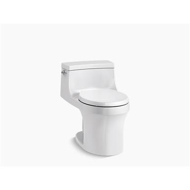 san souci® one-piece round-front 1.28 gpf toilet with aquapiston® flushing technology