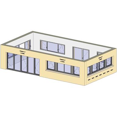 horizontal strip windows - showcase