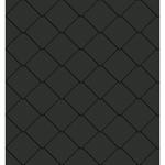 bardeaux carres facade (325 mm x 325 mm, artcolor basalte)