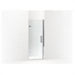 """components™ frameless pivot shower door, 71-5/8"""" h x 29-5/8 - 30-3/8"""" w, with 3/8"""" thick crystal clear glass"""