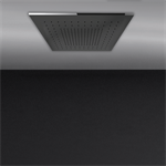 ACCIAIO - 假天花板500x500毫米花洒系统,具有淋雨功能。要配装饰盖。  - 57901