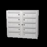 Kompakt 270 10 compartments D 6 mm mail slot