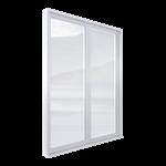 espace® o.c. 70 th window (side-hung,  tilt-turn) 2 leaves
