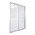 espace® o.c. 70 th window (side-hung,  tilt-turn) 2 leaves