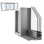 slidingdoor quad upvc-alu internorm ks430 c