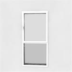 fenêtre à frappe 1 vantail sur allège vitrée hauteur fixe (1000 mm)