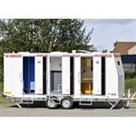 8-person construction trailer