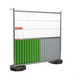 cisabac clôture mobile grillagée bardée cmgb 220