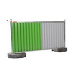 cisabac clôture mobile bardée cmb 120