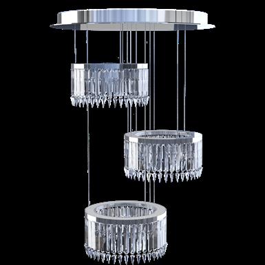 lady crinoline chandelier classic 3 modules