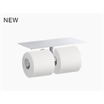 components™ covered double toilet tissue holder