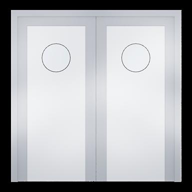 sp 130 - 2 vantaux porte hydrofuge en polyéthylène